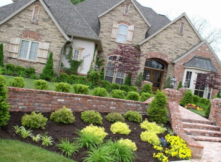 front+yard+landscaping+plans | Best design ideas. Fowers, trees, zones, front yard, patio, pool ...