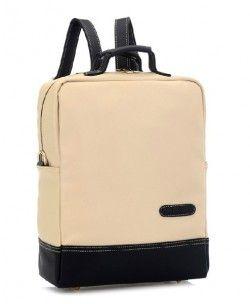 Color Block Vintage Backpack