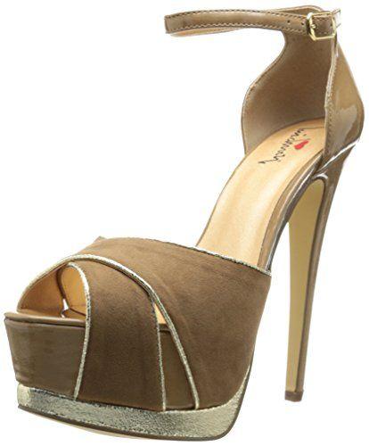 Luichiny Women's Night Glow Platform Sandal => Save this wonderfull item :  Platform sandals