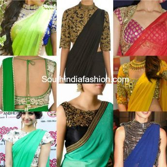 Know how to get perfect saree blouse fabric design and pattern stitched in various designs like stitching with the accurate measuements etc.