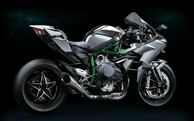 Kawasaki Ninja H2R   Officially 300hp of Hyperbike