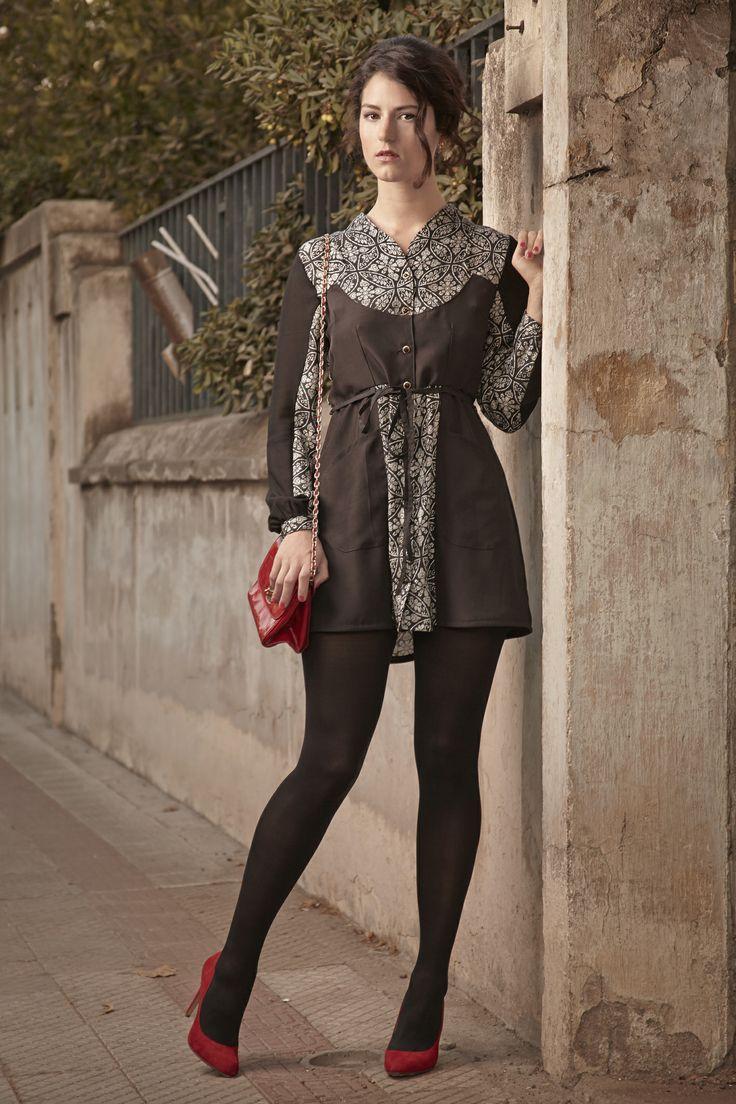 Vestido Abotonado / Buttoned Dress