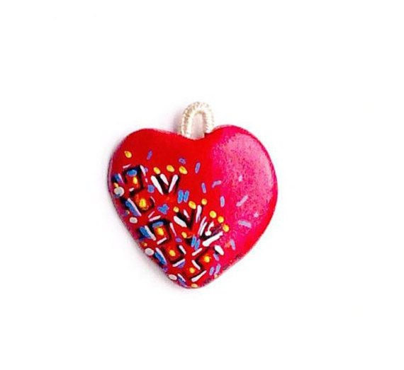 Heart Personalized NecklaceHearts NecklaceHandmade Wow by WowOne