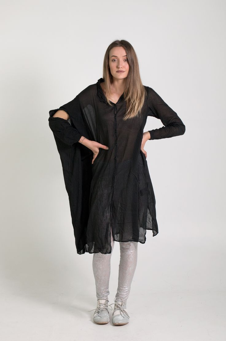 Rundholz Dip | Et Vous | Black Dress