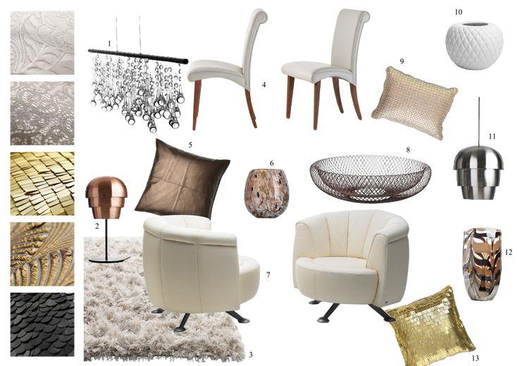 Luxusní glamour styl / luxury glamour interior style