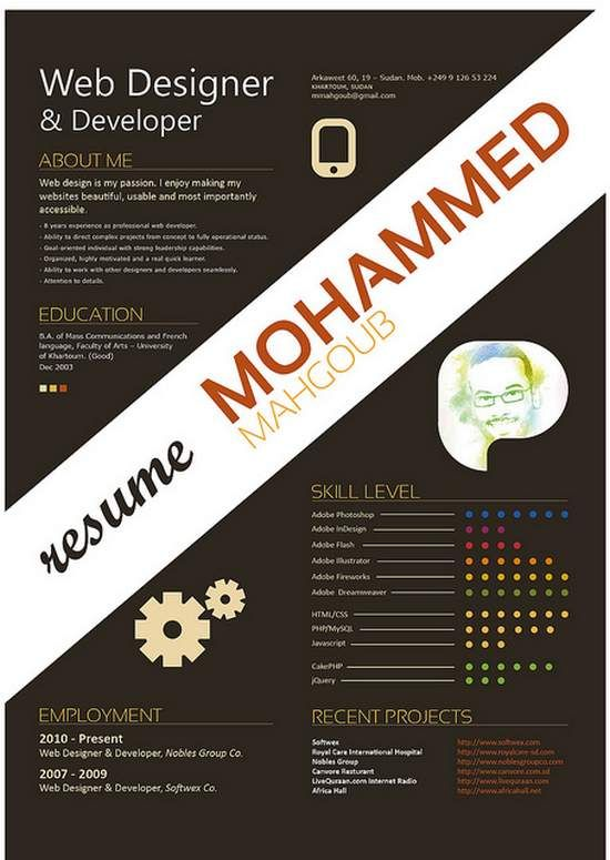 57 best Resumé CV images on Pinterest Resume, Creative - associate web designer resume