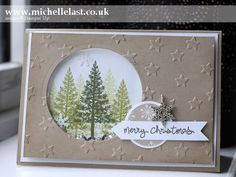 handmade christmas shaker cards - Google Search
