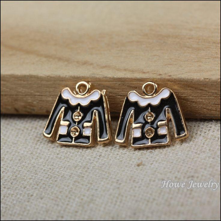 Ретро очарование эмаль черный одежды , ювелирные изделия металлические ожерелья P012