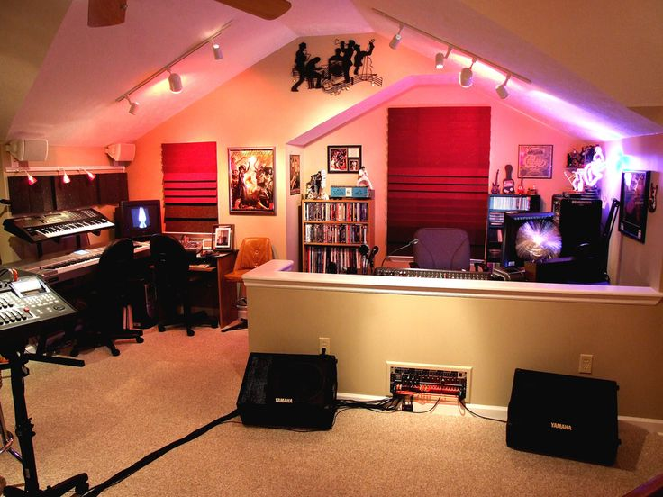 find this pin and more on home studio - Home Music Studio Design Ideas