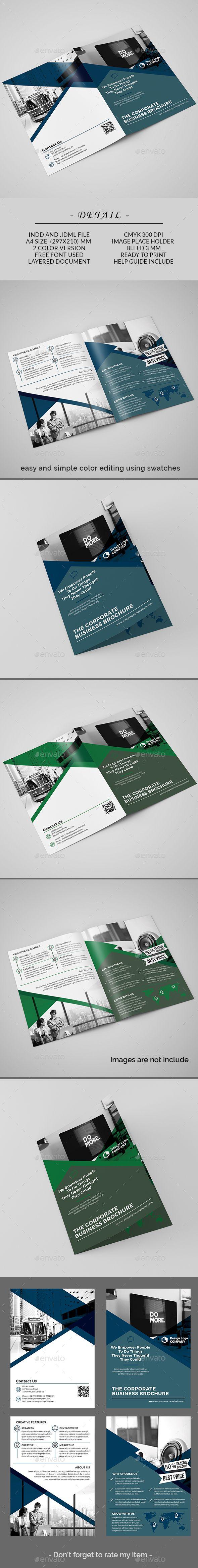 #Bifold #Brochure - Corporate Brochures