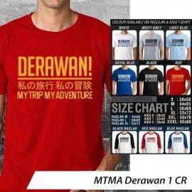 T-Shirt #MTMA #Derawan 1 CR