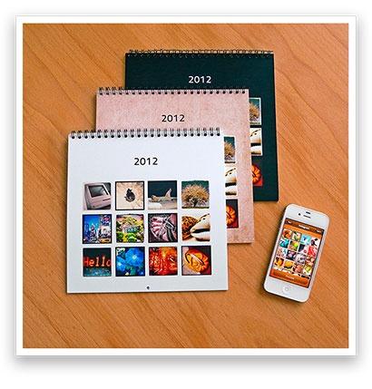 Calendagram -- Wall calendars from Instagram photos