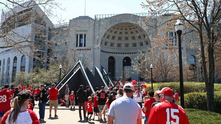 Ohio State sets national spring game attendance record for the second straight year - Land-Grant Holy Land
