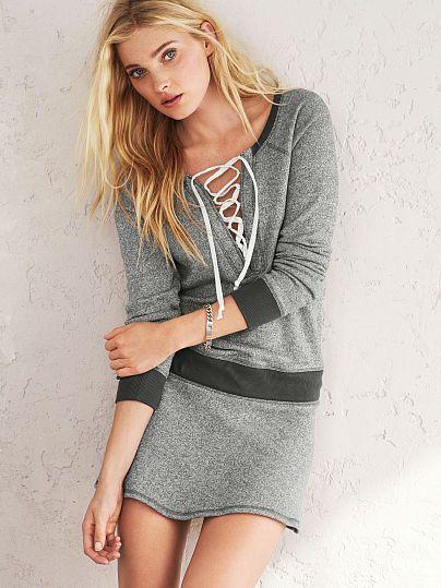 Lace me up! | Victoria's Secret Dress