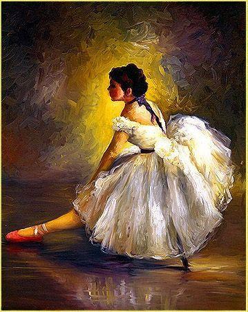 the classic Degas ballerina