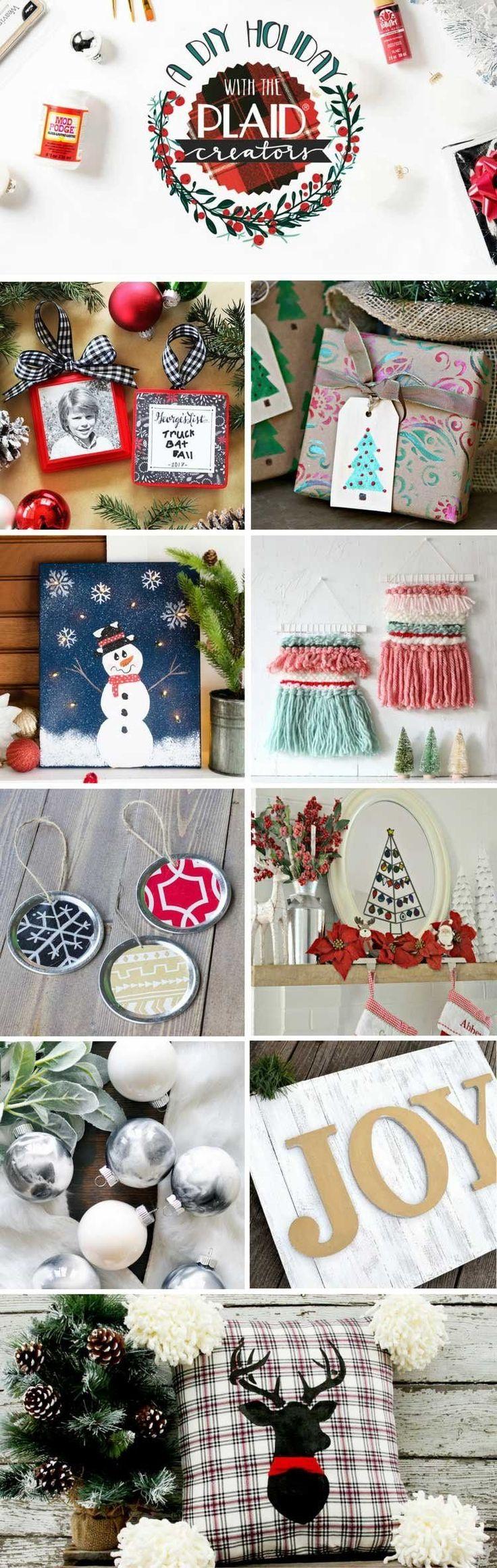 DIY Christmas u0026 holiday ideas including ornaments