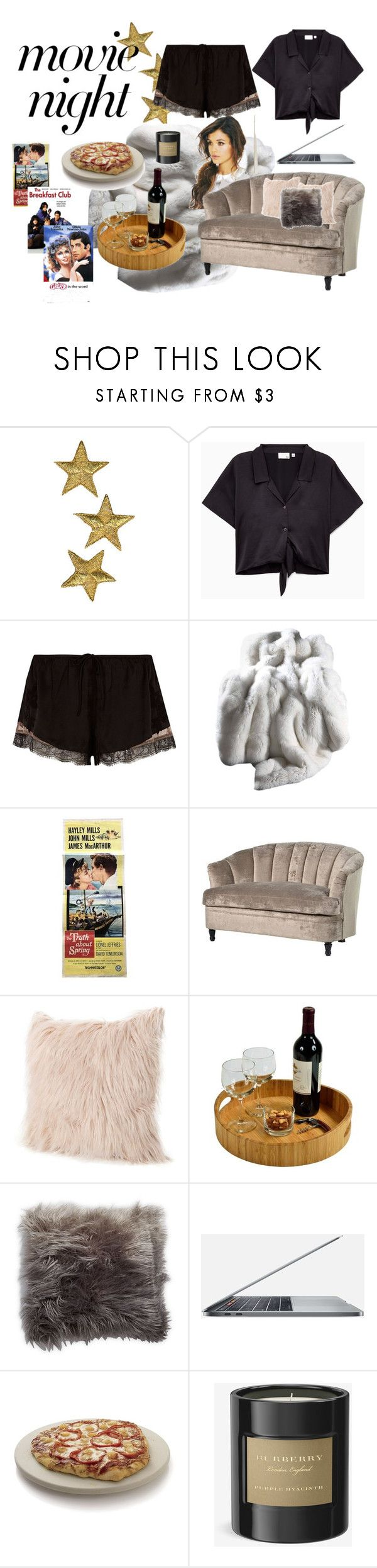 """movie night"" by neesha-jivarajan ❤ liked on Polyvore featuring River Island, Picnic at Ascot, Thro, Crate and Barrel and Burberry"