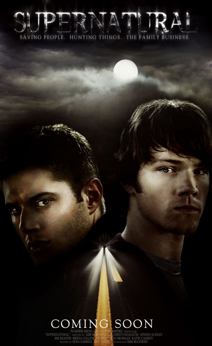 Supernatural Movie Poster Oh God Yes Someone Make This Movie