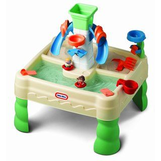 @Overstock - This Little Tikes water table makes your backyard or deck into a miniature water park. Lots of integrated activities keep children involved so they have a splashing good time.http://www.overstock.com/Sports-Toys/Little-Tikes-Sandy-Lagoon-Waterpark/7544206/product.html?CID=214117 $54.99
