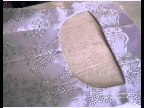 открытая спина в корсетном платье. corset.co.il - YouTube