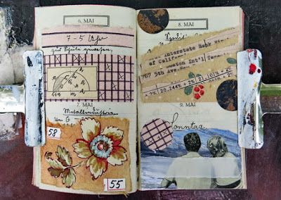 mano kellner, daily project 2016, a collage a day, gustavs agenda,6.-9.5.