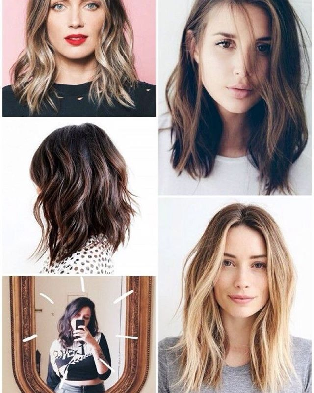 Long Bob Hairstyle 31 Best Long Bob Images On Pinterest  Hair Colors Hair Cut And New
