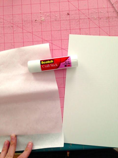 Little Bit Funky: comment faire un transfert du papier congélateur {pourquoi papier congélateur doit être dans votre cachette}
