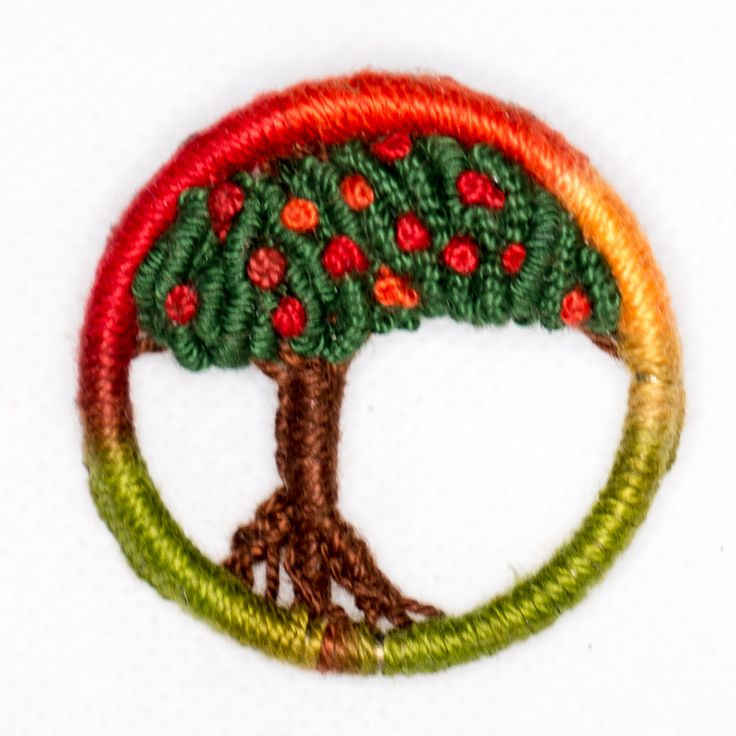 Pregadeira Laranjeira (Natal 2014) Dorset Button