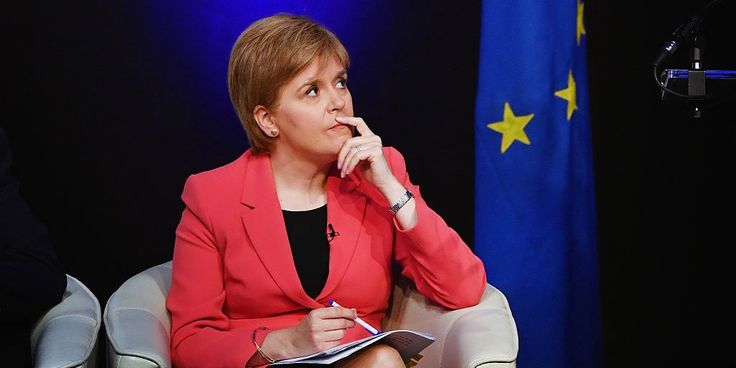 Nicola Sturgeon ditches call for a second referendum to keep Scotland in EU - Business Insider UK