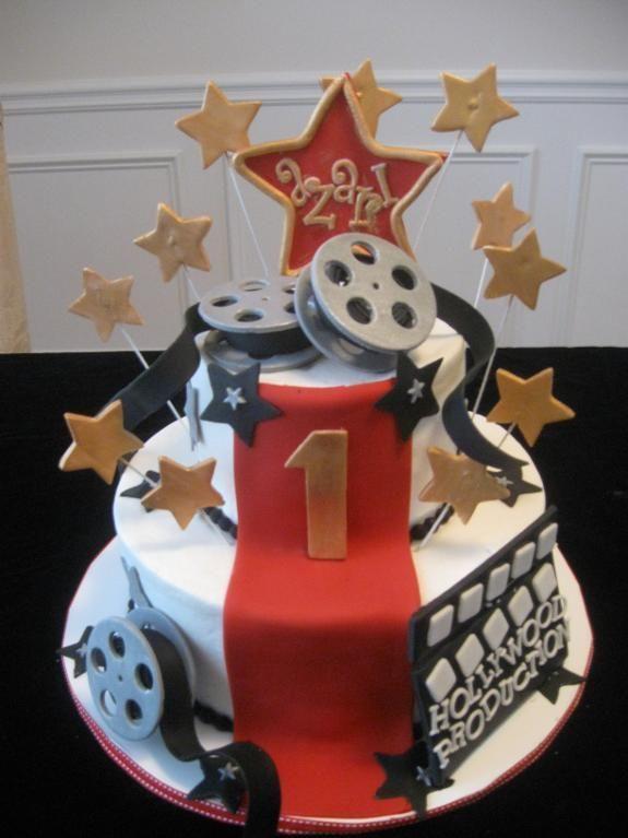 Best  Hollywood Cake Ideas On Pinterest Hollywood Cake Theme - Movie themed birthday cake
