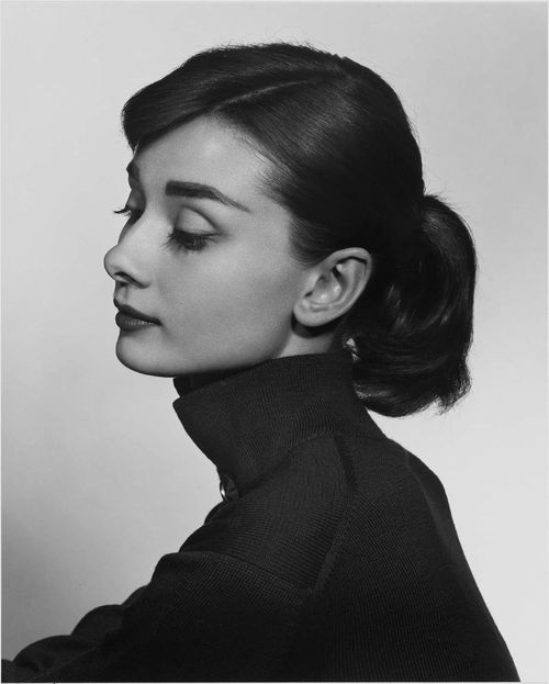 Audrey Hepburn, 1956, a classic photo by Yousef Karsh