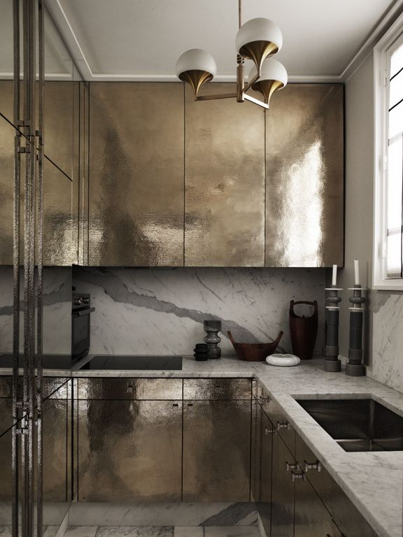 Love the marble backwall :: Rydeng`s blog...: The Paris apartment of Jean-Louis Denio