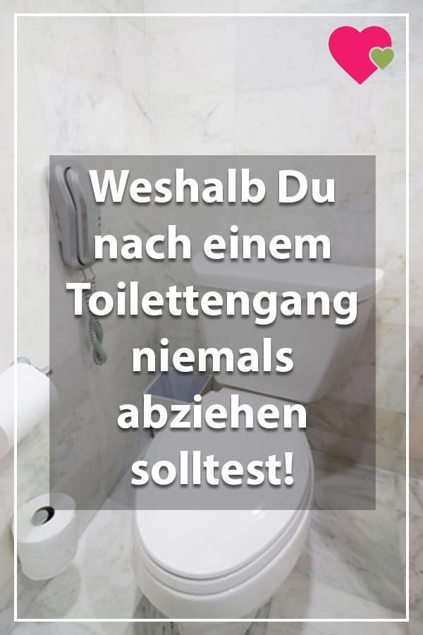 Das solltest Du bei einem Toilettengang beachten, um Dein Bad vor Keimen zu schützen