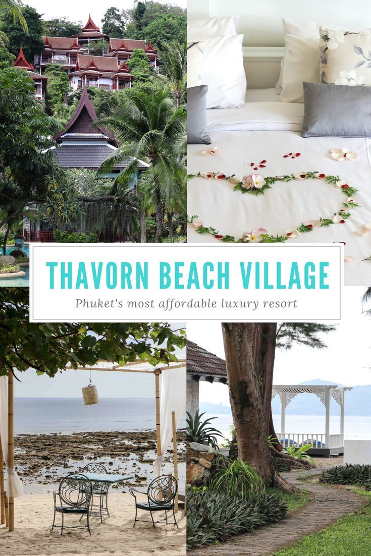 Thavorn Beach Village - the most affordable luxury resort in Phuket, Thailand | accommodation | 5 star | hotel recommendations