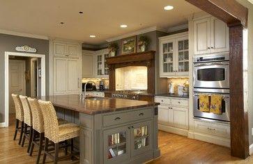 pictures of craftsman kitchen islands | Craftsman Kitchens