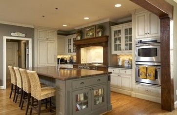 pictures of craftsman kitchen islands | Craftsman Kitchens