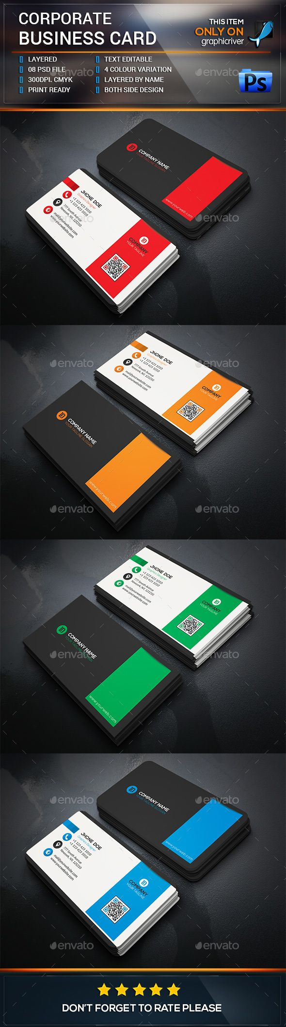 118 Best Business Cards Images On Pinterest Business Card Design