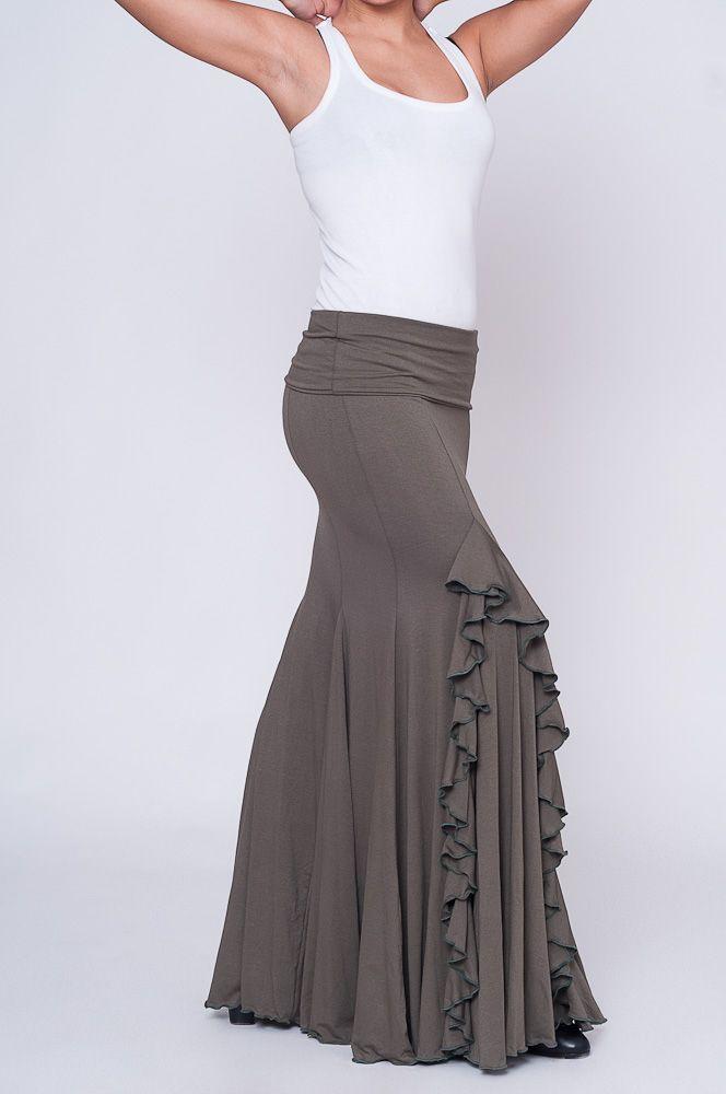 Zoom Foto 3 - Falda de Ensayo Flamenco Modelo FE1201