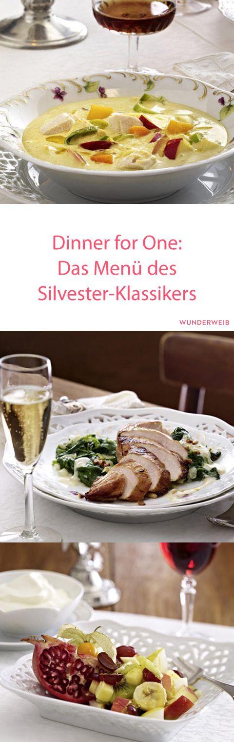 Das Menü des Kultfilms zum Nachkochen: Hier findest du die Rezepte aus Dinner for One! #silvester #dinnerforone #party