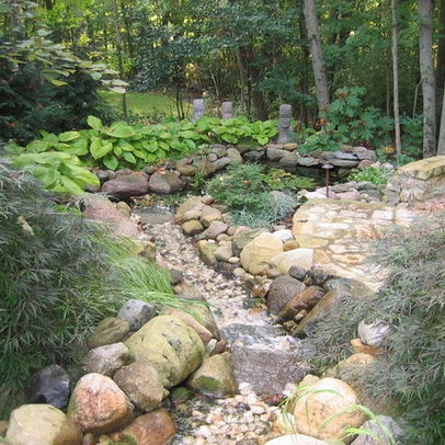 71 best dry river beds or water features images on pinterest backyard ideas landscaping and. Black Bedroom Furniture Sets. Home Design Ideas