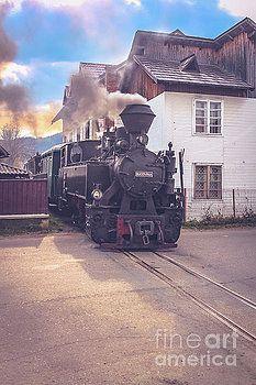 Retro steam-train in Romania  by Claudia M Photography