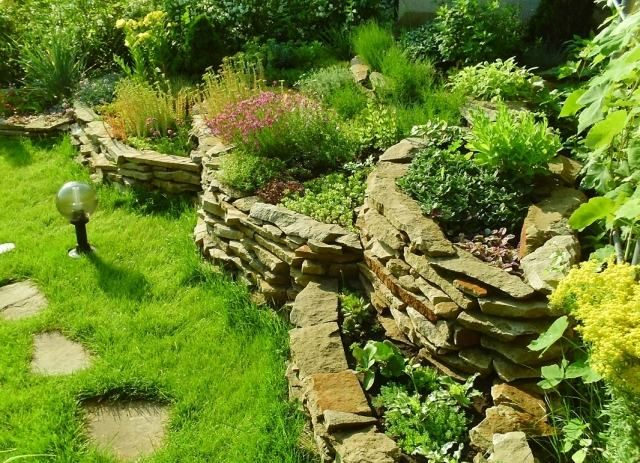 7 best Steingarten images on Pinterest Decks, Gardens and