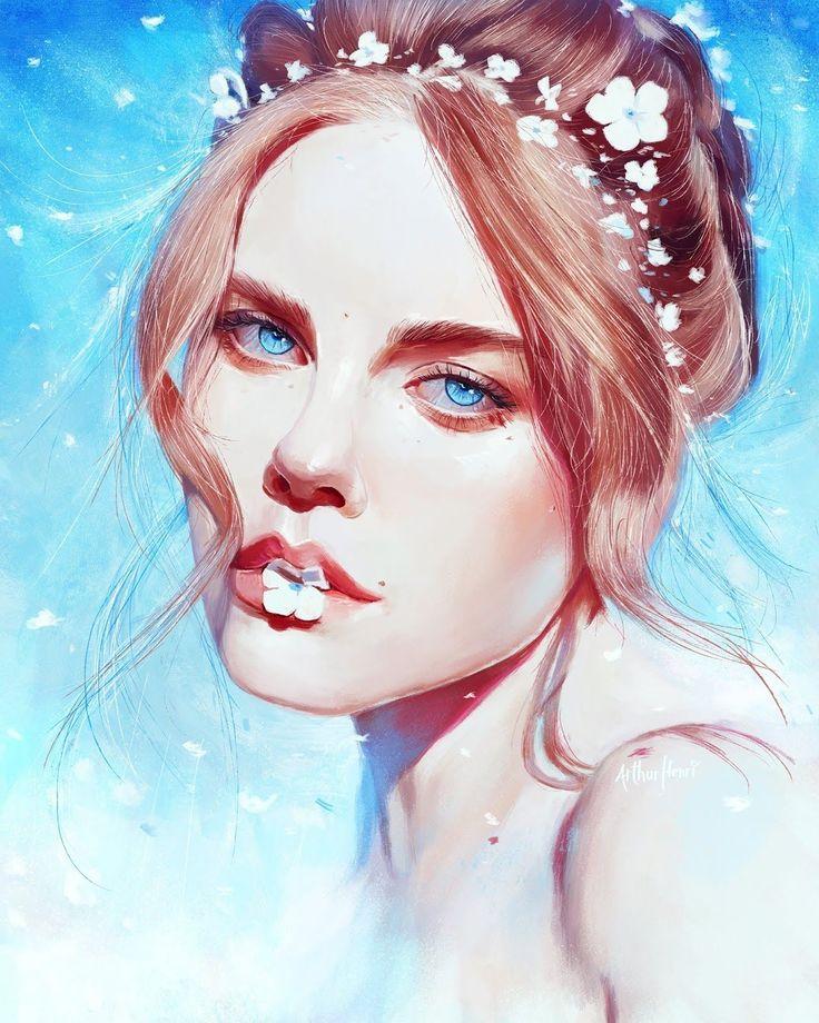 Картинка арт лицо
