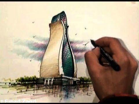 architect emad zand - sketch 14 - خلاقيت در معماري عمادالدين زند