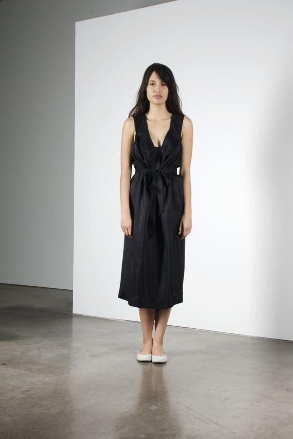 Imagine dress - Black with belt