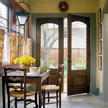 Dream doors... husband says that I need to pick something that would actually fit! :)