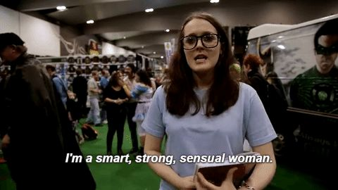 New party member! Tags: smart strong i cant even sensual woman i'm a smart