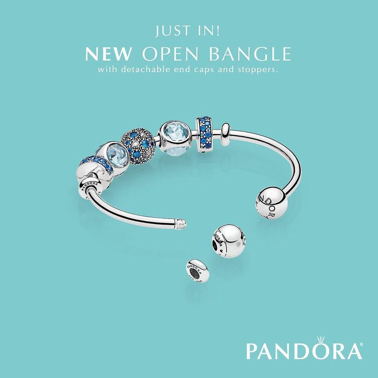 """297 Likes, 5 Comments - PANDORA Store Mall Of America (@pandoramoa_becharming) on Instagram: """"This just in! A versatile and innovative new bracelet concept, the Open Bangle has detachable end…"""""""