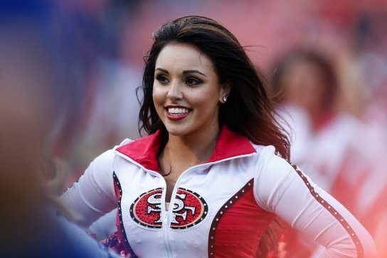 San Francisco 49ers – Niner Insider Blog – SFGate.com » The Gold Rush: 49ers cheerleaders in photos