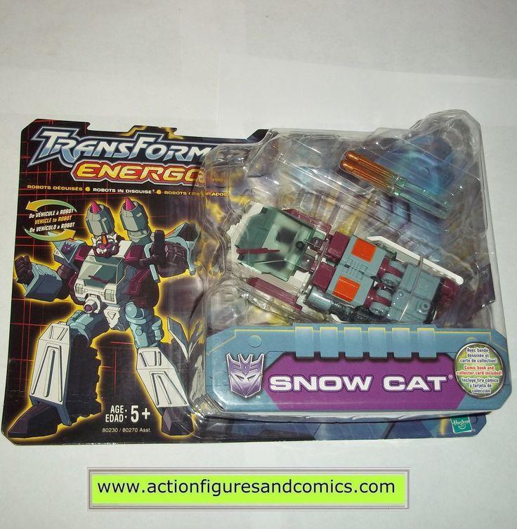 Transformers energon SNOWCAT snow cat 2003 gi joe vehicle moc mip mib